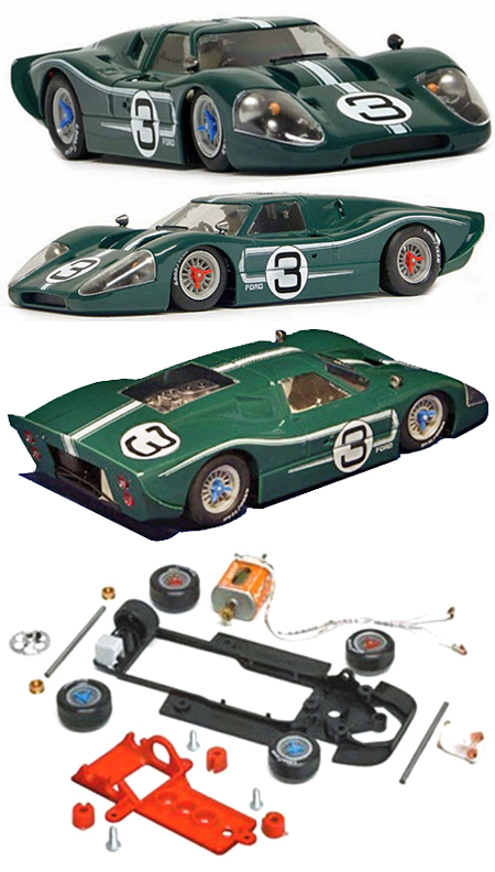 NSR 11128SW Ford MkIV #3 green