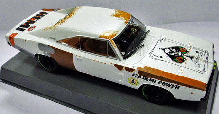 Pioneer P023 Dodge Charger, Ace of Spades rat rod