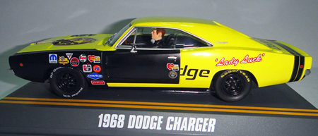 Pioneer P025 Dodge Charger, Lady Luck rat rod