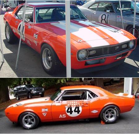 Pioneer P033 68 Camaro, #44 orange