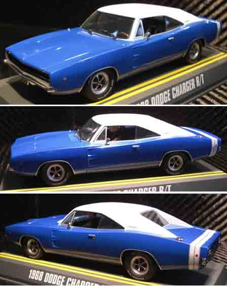 Pioneer P034 '68 Charger R/T blue metallic