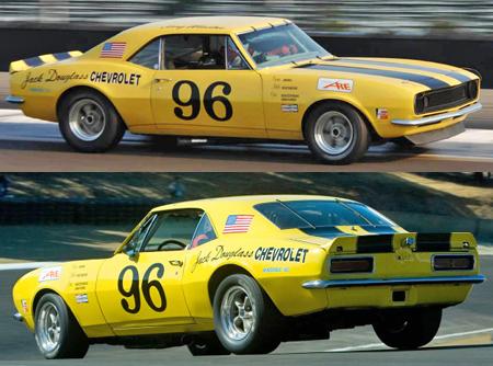 Pioneer P041 68 Camaro, #96 yellow