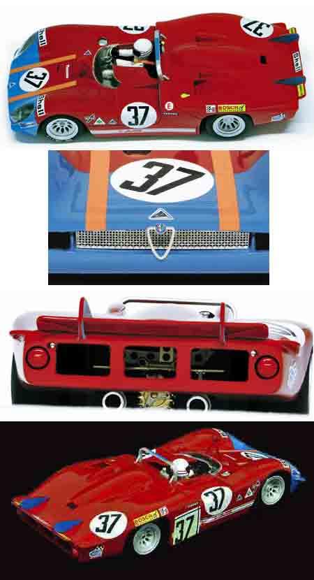 Racer RCR53D Alfa Romeo 33/3, LeMans 1970 #37