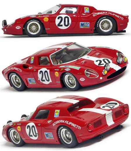 Racer RCR65 Ferrari 250LM, LeMans 1968
