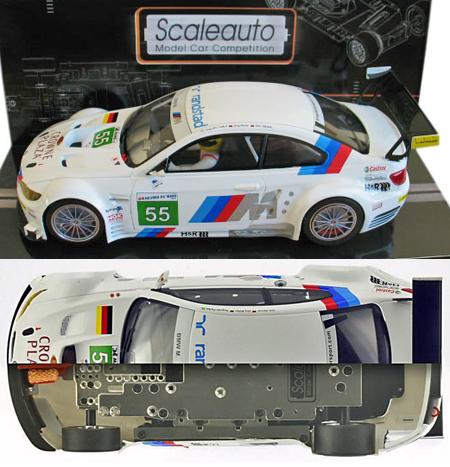 Scale Auto SC7035 BMW M3 GTR GT2, #55,LeMans 2011. 1/24 scale