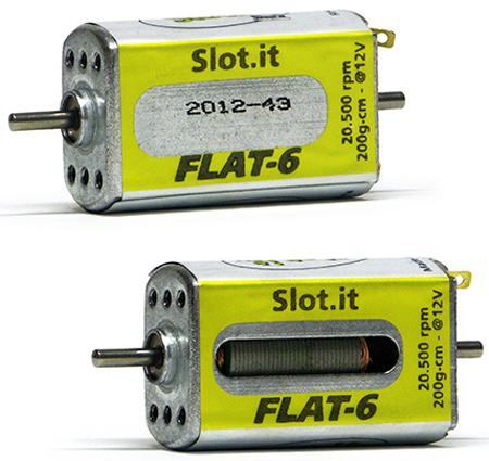 Slot It SIMN09CH Flat 6 motor
