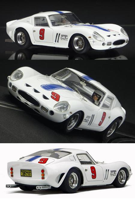 Racer SL07 Ferrari 250 GTO, Laguna Seca 1963