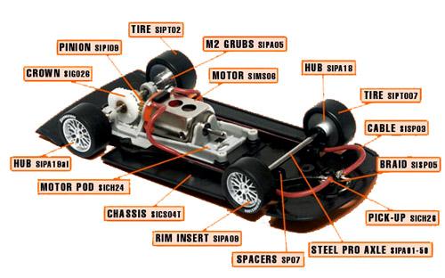 Slot It SICA05D parts