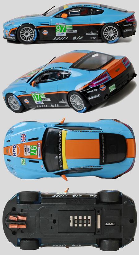 SCX A10116X300 Aston Martin Vantage, Gulf