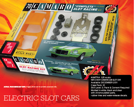 AMT 744 1970 Camaro 1/24 scale KIT
