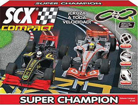 SCX C10124X5 Super Champion Race Set, 1/43 scale