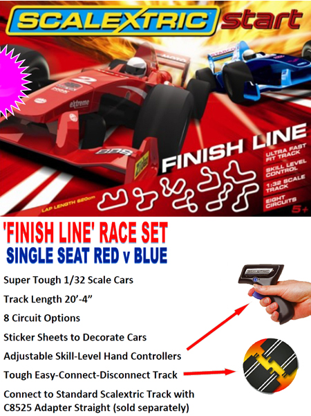 Scalextric C1293T Start Finish Line race set