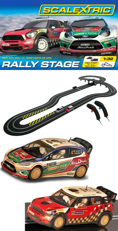 Scalextric C1295T Rally Stage race set