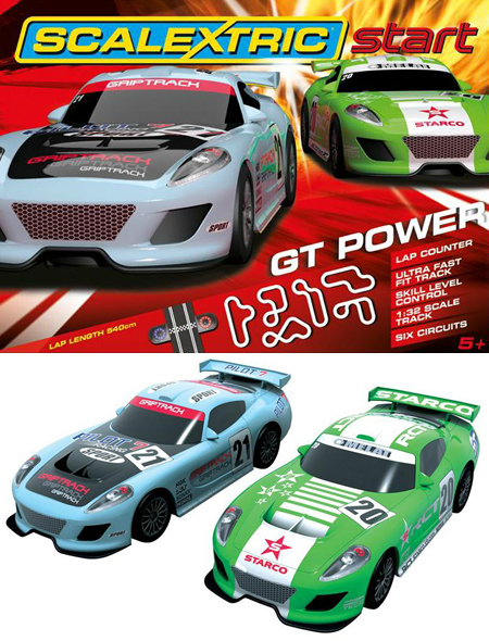 Scalextric C1303T Start GT Power race set
