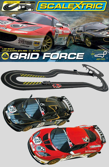 Scalextric C1307T Grid Force race set