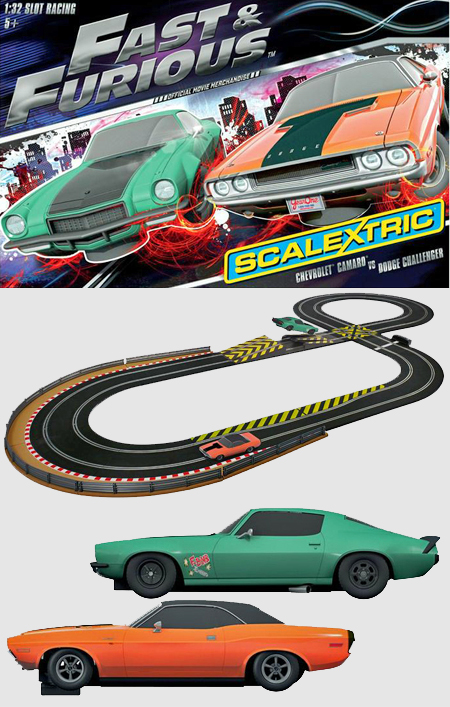 Scalextric C1309T Fast and Furious race set
