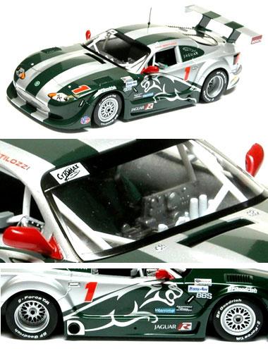 Scalextric C2711 Jaguar XKR Trans Am Paul Gentilozzi