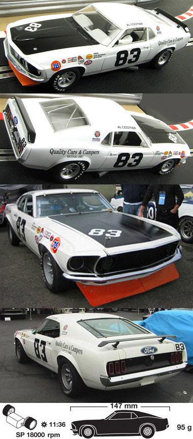 Scalextric C2890 Trans Am Mustang, Al Costner