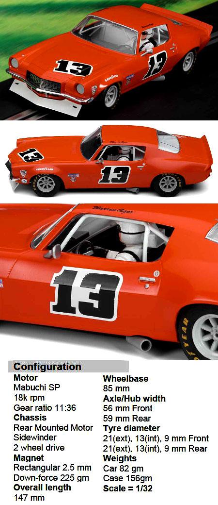 Scalextric C3001 Camaro