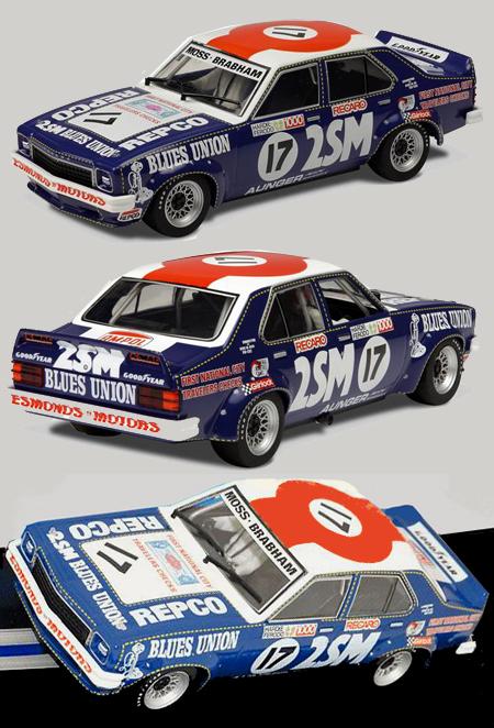 Scalextric C33304 Holden L34 Torana 1976 Bathurst