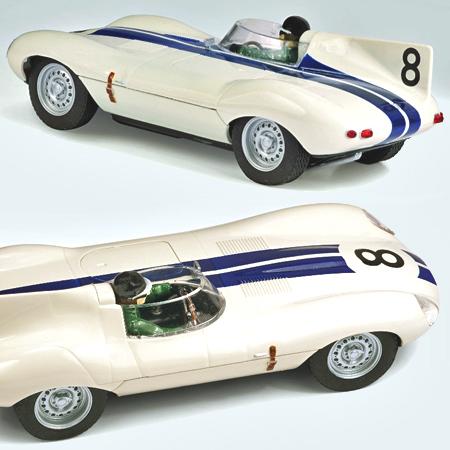 Scalextric C3308 Jaguar D-type, Sebring 12 hrs. Briggs Cunningham