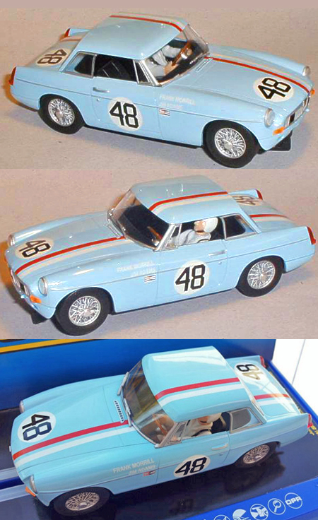 Scalextric C3312 MGB, Sebring 1964