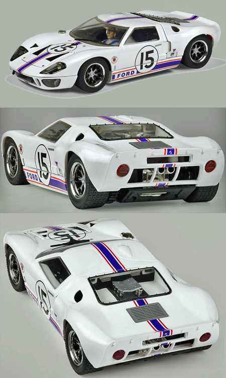 Scalextric C3315 Ford GT40, Ford France LeMans 1966