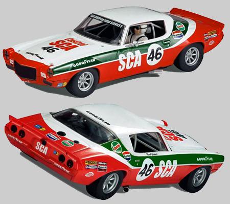 Scalextric C3316 1970 Camaro, Frank Gardner