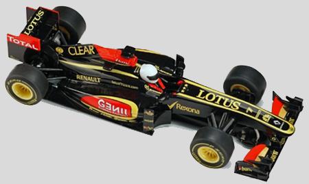 Scalextric C3364 Lotus-Renault 2013, Kimi Raikkonen