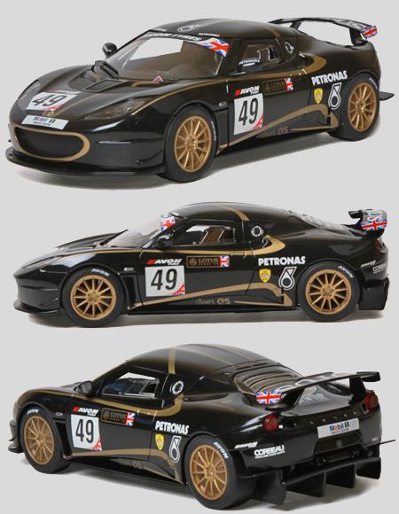 Scalextric C3387 Lotus Evora #49 Petronas