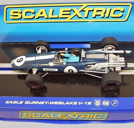 Scalextric C3429 Eagle F1, 1967, Dan Gurney, Nurburgring 1967