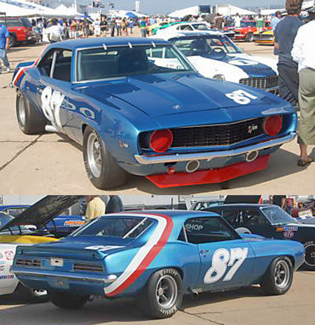 Scalextric C3430 1969 Camaro, Jerry Petersen