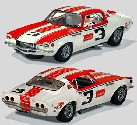 Scalextric C3431 1970 Camaro, Tony DeLorenzo