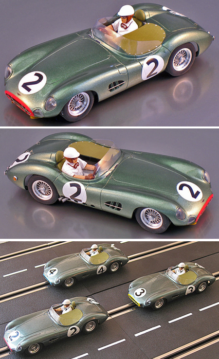 Proto Slot CB062P Aston Martin DBR1, LeMans 58, painted body kit