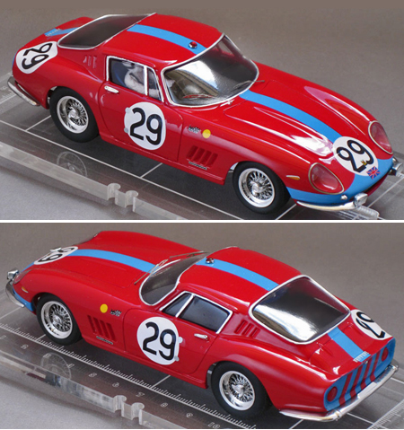 Proto Slot CB063-1P Ferrari 275GTB4, LeMans 66, painted body kit