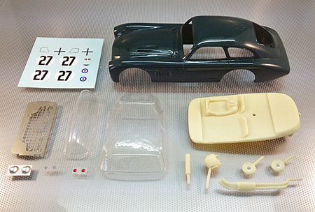 Proto Slot CB075/1 Aston Martin DB3, LeMans 1952, painted body kit