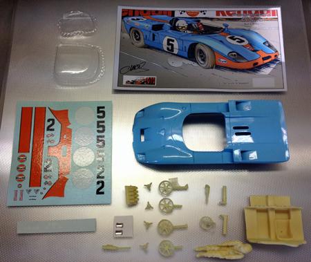 Proto Slot CB082P Mirage M3-Cosworth, Watkins Glen 1969, painted body kit