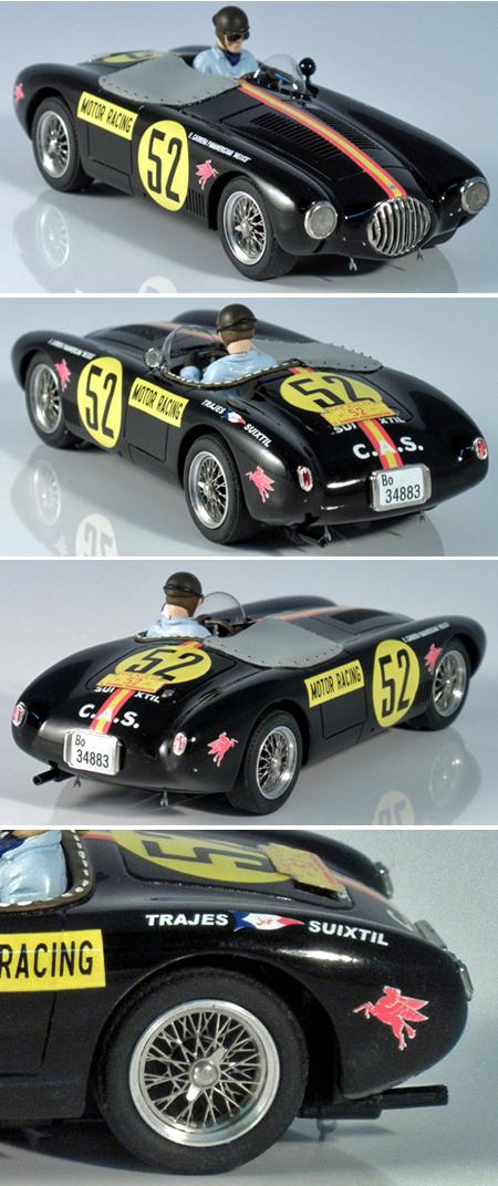 Slot Classic CJ37 OSCA MT4. Alfonso DePortago 1954