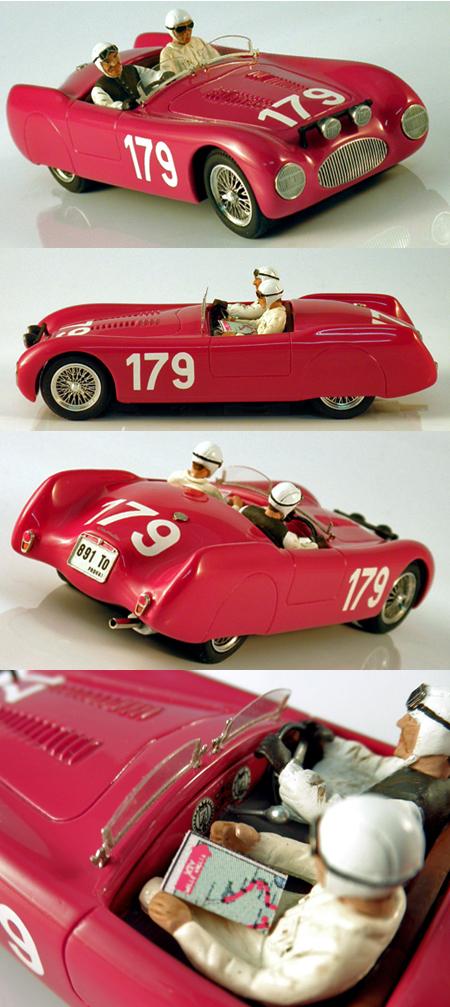 Slot Classic CJ43 Cisitalia Spyder Nuvolari, Mille Miglia 1947