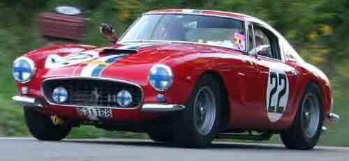Ferrari GT car