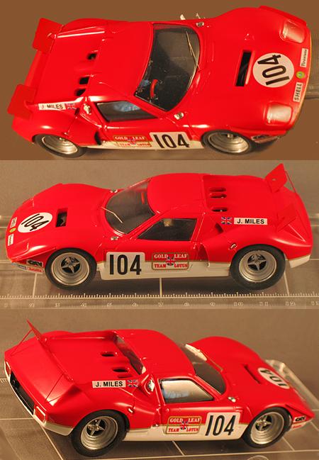 Proto Slot GM022 Lotus Europa 1982, red. RTR