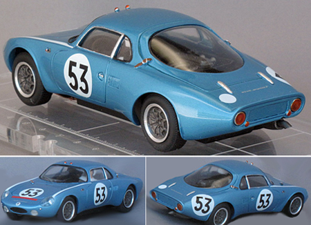 GM024/3 Aerodjet, LeMans 1963, RTR car, race #53