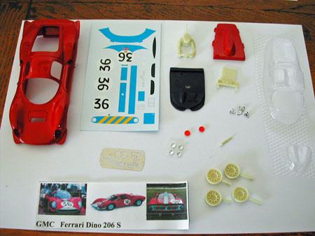 MMK GMCS02/3 Ferrari Dino 206S LeMans KIT