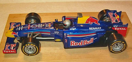 Allslotcar by Ostorero GPF05 Red Bull F1 RTR car