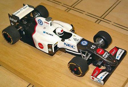 Allslotcar by Ostorero GPF06 Sauber F1 RTR car