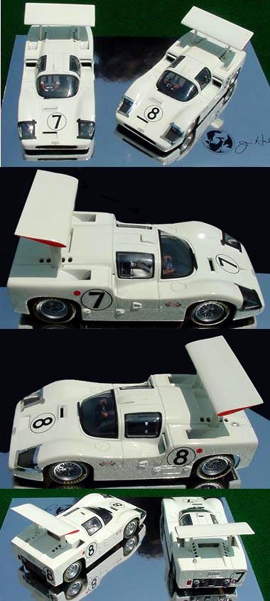 MRRC MC 0040 Chaparral 2F 2-car set