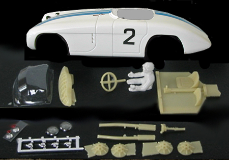 MMK 52PD Cunningham C5R LeMans 1953, painted and decaled body kit