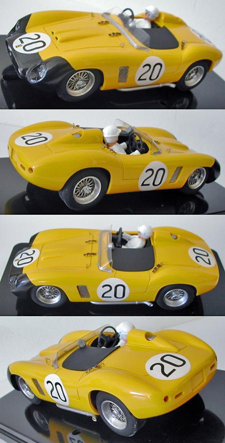 MMK 53-20 Ferrari TR500, #20 yellow, LeMans 1956