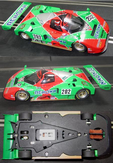 MRSlotcar MR1004 Mazda 787B 1991 JSPC