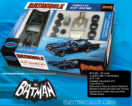 POL 824 Batmobile (60s TV show) 1/32 scale KIT